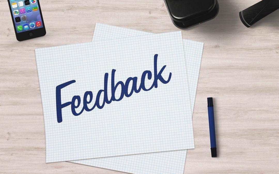 Constructieve feedback: hoe zit dat?